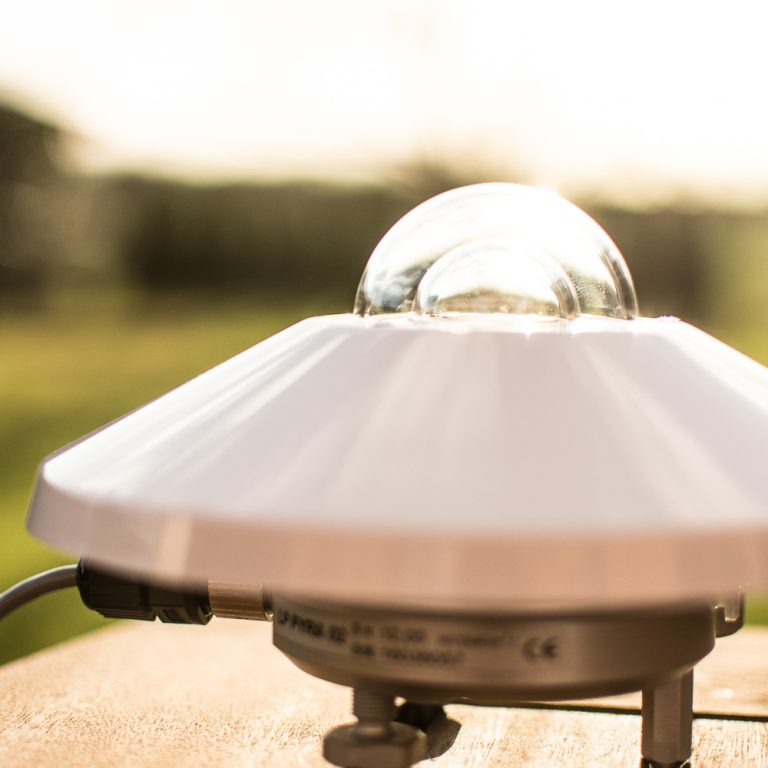 Sonnenstrahlung Pyranometer